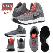 Nike Hyperdunk 2017 Grey Black Crimson Men's Basketball Shoes SZ 11 & 12... - $109.97