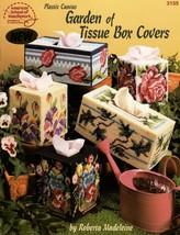 Garden of Tissue Box Covers American School Plastic Canvas Leaflet 3155 - $19.95