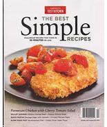America's Test Kitchen Magazine The Best Simple Recipes Magazine 2019 [S... - $12.73