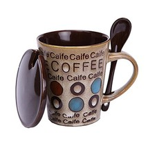 Kylin Express Creative & Personalized Mugs Porcelain Tea Cup Coffee Cup Office M - $22.03