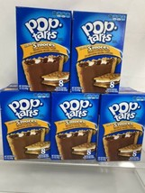 (5) Kellogg's Pop Tarts Frosted Smores Toaster Pastries 14.7 oz Box 8 Each - $15.19