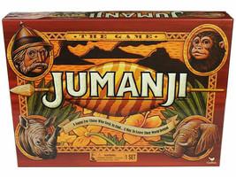 Jumanji Box Board Game Full Cardinal Edition Complete - $12.66