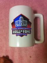 NFL  FOOTBALL FALL OF FAME  LARGE COFFEE MUG / CUP  CANTON OHIO--FREE SH... - $17.85