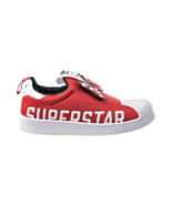 """Adidas Superstar 360 X C """"Minnie Mouse"""" Little Kids' Shoes White-Scarlet... - $52.80"""