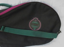 PRINCE CLUB COLLECTION TENNIS RACQUET BAG COVER Case VINTAGE THICK and S... - $14.24