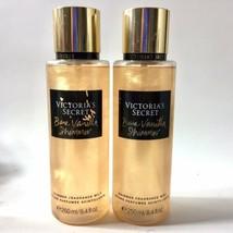 2 Victorias Secret Bare Vanilla Shimmer Mist 8.4 oz Glitter Fragrance Bo... - $34.99
