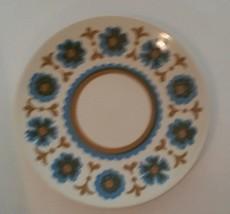 Mid Century Royal Ironstone Flower Dance Royal China Salad Plate 7.25 Inch - $12.22