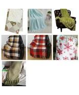 Plaid Blanket Bedding Throw Plaid Christmas - $45.00