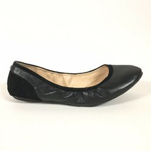 Cole Haan Womens 8.5 Grand OS Black Leather Ballet Flats Rounded Toe Sue... - $18.99