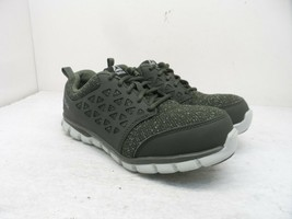 Reebok Work Women's Sublite Safety Cushion Work Shoes RB051 Green Size 8W - $64.12