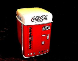 Coca-Cola Machine Cookie Jar with Lid AA18-1311 Vintage 1995 - $98.95