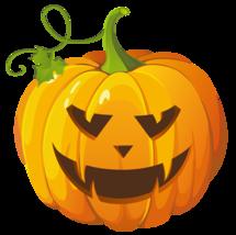 15x15cm Shaped Vinyl Sticker pumpkin halloween horror cool retro jack o ... - $5.20
