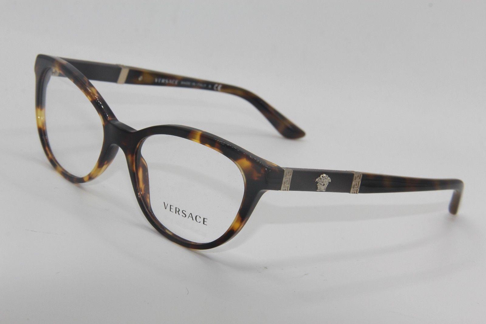 9fef20e403ec New Versace Mod. 3219-Q 5148 Eyeglasses and 50 similar items. 57
