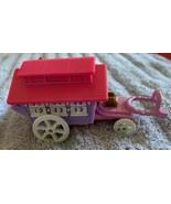 VINTAGE Polly Pocket Circus Wagon Bluebird 1995 No Doll No Horse - $14.84