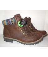 "St. John's Bay new Combat Boots sz 11 M ""Pickens"" Brown w Memory Foam Hi... - $45.00"