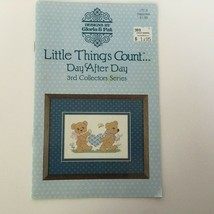 Designs by Gloria & Pat Cross Stitch Patterns Booklet Little Things Coun... - $4.50