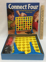 Connect Four Board Game MB Milton Bradley Hasbro 2002 USA Made 7+ 2 Players - $9.89
