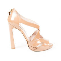 Miu Miu Patent Leather Cage Sandals SZ 38 - $135.00