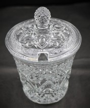 Cape Cod, Crystal Marmalade Jar with Cover, made by Imperial Glass Co. - $24.00