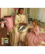 Misses Childs Knit Peignoirs Dressing Gown Bathrobe Floor Length PATTERN... - $8.99