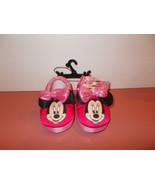 Minnie Mouse Slippers Medium (7-8) - $11.99