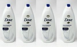 (4) Dove Nourishing Body Wash, Deep Moisture 24 fl oz  - $30.69