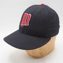 Minnesota Twins New Era 59FIFTY Authentic Diamond Fitted Wool Hat Size 7... - $14.84