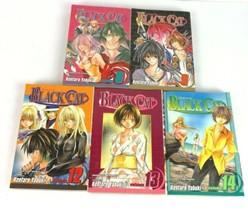 Black Cat Manga Lot 5  Graphic Novel PB 8 9 12 13 14 Paper Back - $29.99