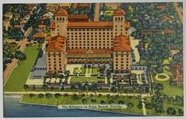 VTG Linen Era Postcard The Biltmore Hotel in Palm Beach, Florida Unused - $9.75