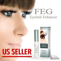 FEG Eyelash Enhancer Eye Lash Rapid Growth Serum Liquid 100% Natural. AU... - $29.67