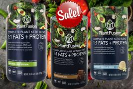PlantFusion Komplett Pflanze Basiert Keto Blend 1:1 Fette + Protein Wähl... - $18.36+