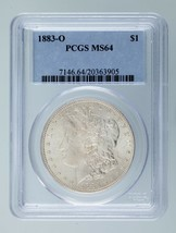1883-O $1 Silver Morgan Dollar Graded by PCGS as MS-64! Gorgeous Morgan! - $98.99