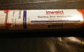 """Inweld ER316L 3/32"""" x 36"""" Stainless Steel Welding Wire, 10 Pounds image 2"""