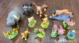 Disney Lion King and Lion Pride PVC Cake Topper Figure Lot - $33.85