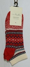 Simply Noelle Brand Red Green Color One Size Fits Most Womens  Ankle Socks image 5