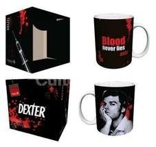Dexter TV Series Corpse Arm Blood Never Lies 11 oz Ceramic Coffee Mug NE... - $5.94