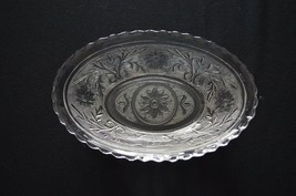 Anchor Hocking Sandwich Glass Oval Serving Dish - $4.95