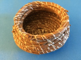 Pine Needle Basket - handmade in Ashevillle, NC - $10.00