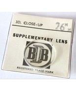 BDB 3x Close-Up Lens 26mm Dia For Vintage Still And Movie Cameras - $12.40