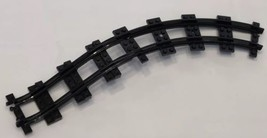 LEGO Black Train Track Plastic Ramp & Curved Section Pieces 85976 And 85977 - $8.99