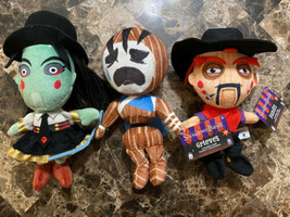 Set All 3 Showdown Bandit Plush Dolls Grieves Miss Undertaker Bandit Pha... - $16.82