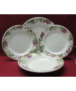 Lot of (4) WILLIAMS SONOMA China - GRAPE VINE Pattern - DINNER, SALAD, S... - $42.95
