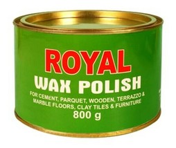 Royal Wax Polish for CEMENT,PARQUET,WOODEN,TERRAZZO,MARBLE etc - $22.00
