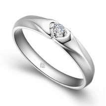 Amethyst engagement ring february birthstone ring simulant amethyst gold... - £385.08 GBP