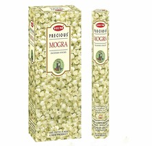 Hem Precious Mogra Incense Sticks Hand Rolled Beautiful Natural Fragrance - $16.23