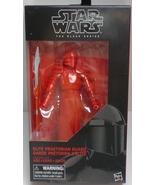 Star Wars The Black Series Elite Praetorian Guard #50 The Last Jedi - $29.95
