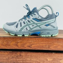 Asics Gel Venture7 Running Sneakers Womens 8 Gray Shoes 1012A476 - $75.59