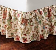Ralph Lauren Antigua Floral Cal King Bedskirt Nip 1st Q Msrp Nip $142 Disc - $69.99