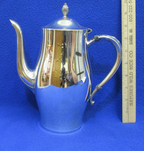 Vintage Wm A Rogers Silverplate Coffee Pot Cara... - $15.79