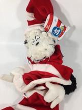Dr. Seuss Cat in the Hat Plush Official Christmas Xmas Stocking Kurt Adl... - $29.99